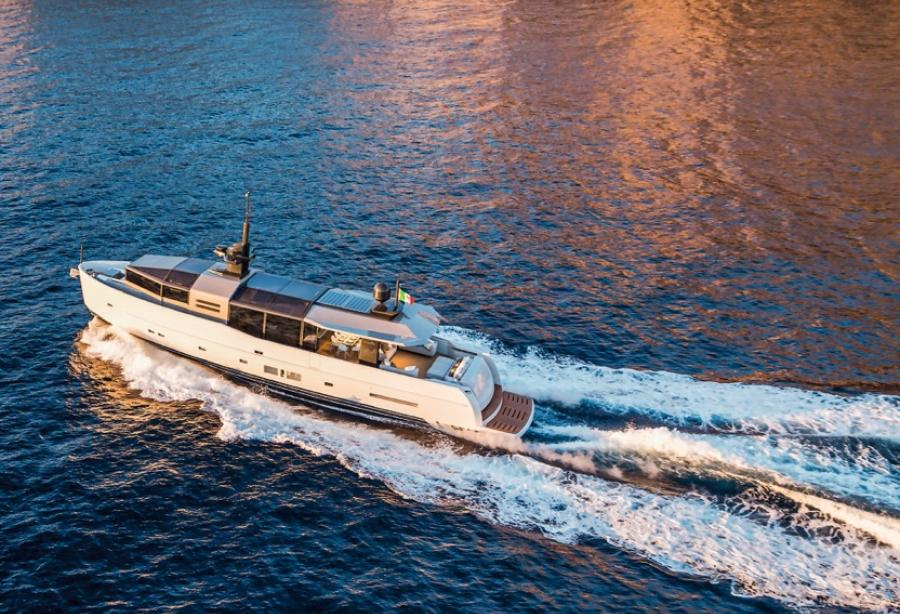 The 18th A85 Hull to be launched by Arcadia Yachts