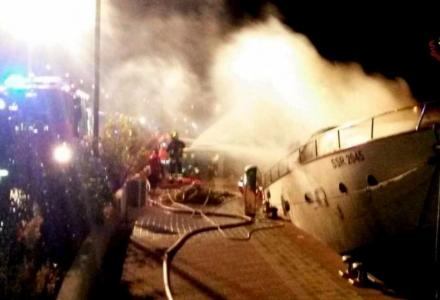 Three dead in yacht fire in Italy