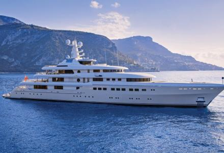 82m Abeking, Kibo sold and renamed Grace