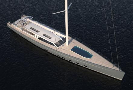 Baltic Yachts starts building 44, 6-metres sailing yacht Baltic 146 in Jakobstad