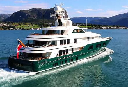 Sea Owl: Robert Mercer's iconic green-hulled yacht