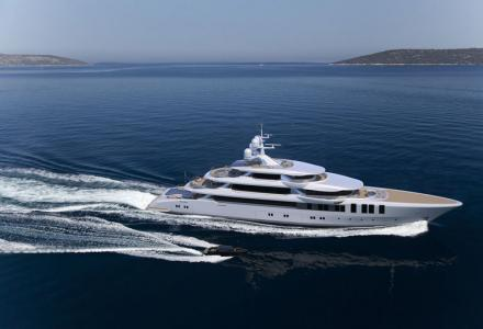 74m Turquoise superyacht Vallicelli sold and under construction