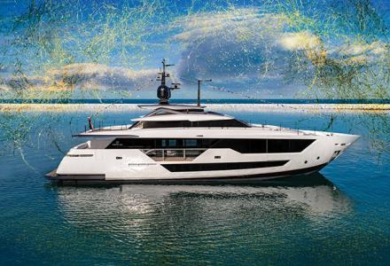 Ferretti new Custom Line 106: first unit now launched