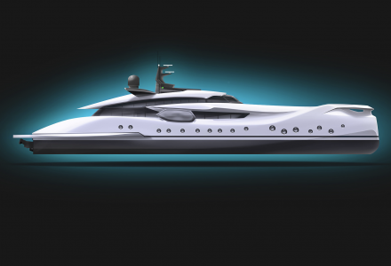 Sea life inspiration: 63m superyacht concept Hypnosquid