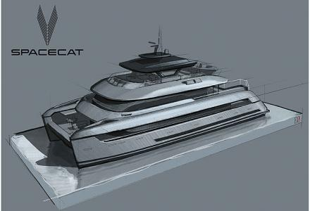 Espen Oeino and SilverYachts present eco-friendly 35m SpaceCat
