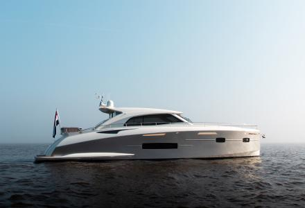 Inveni: the first vessel launched by Sichterman Yachts
