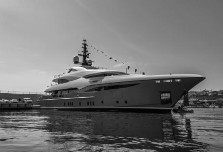47.5m Lilium: Bilgin Yachts launches its last yacht at Kucukcekmece facility