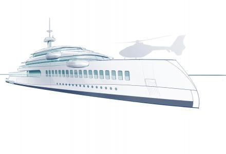 65m Feadship superyacht concept Silence with plastic removal system on-board