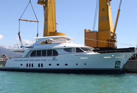 Course towards ecology: CCN launches a 31m environmentally efficient superyacht Vanadis