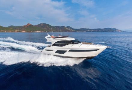 Princess launches F50 yacht with high speed and compact design
