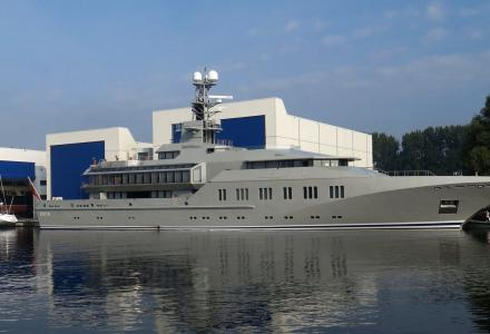 Royal Huisman to exploit former Holland Jachtbouw shipyard in Amsterdam