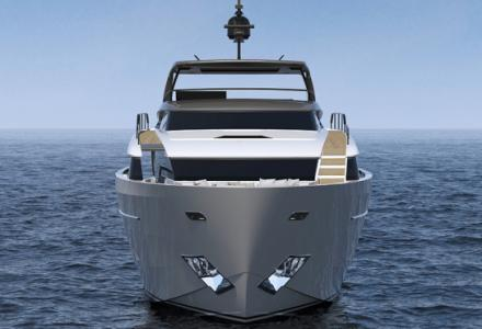 Asymmetric future of yacht design: Sanlorenzo introduces brand new SL96