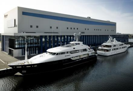 50m Feadship Broadwater returns to homeyard for pre-sale works