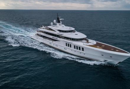 To spy or not to spy: techno utilities aboard a €65 million James-Bond-inspired superyacht