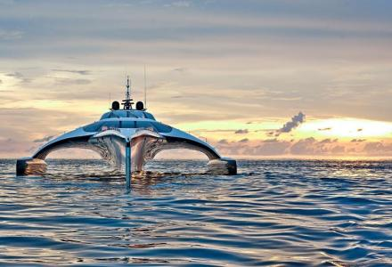 $12 million futuristic superyacht Adastra now on sale