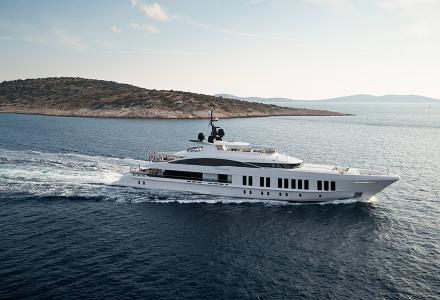 60m Alia superyacht Samurai to debut in public three years after launch