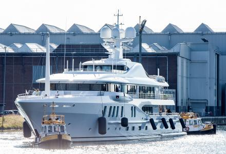 Aurora Borealis delivery: the last Amels of 2019 is asking $ 94 million