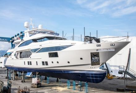 Benetti delivers Fast 125 Series Bangadang with Rolls-Royce propulsion