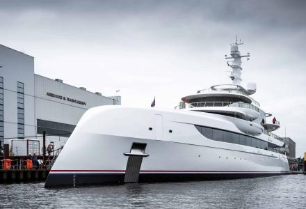 Abeking delivers 80m superyacht Excellence to American billionaire
