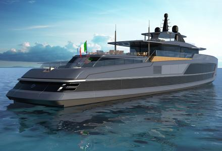 65m Baglietto V-line design revealed at the MYS 2019