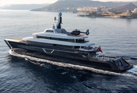 87m Feadship superyacht Lonian now revealed