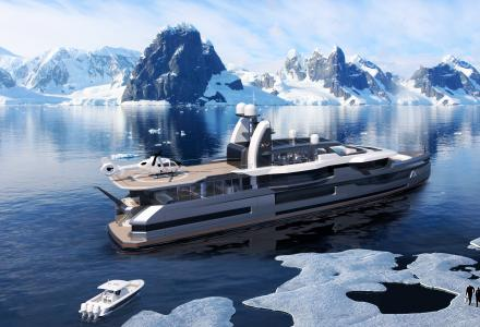 Heesen and Winch Design present 57m explorer superyacht at Fort Lauderdale