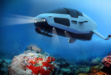 New multipurpose craft to dive to 100 metres and speed at 30 knots