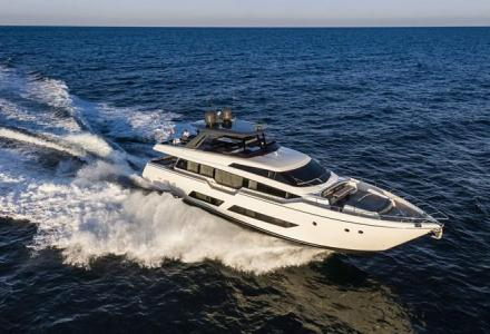 Arrested Maltese businessman's 26m Ferretti yacht on sale for EUR 4 million
