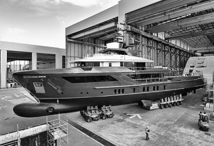 Fourth 500EXP superyacht sold at Sanlorenzo