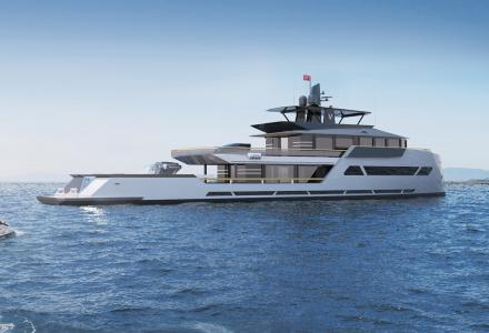 Russian designer Max Zhivov introduces explorer superyacht 165 Viatorem