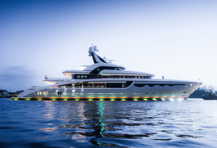 Soaring: Abeking launches 68m superyacht