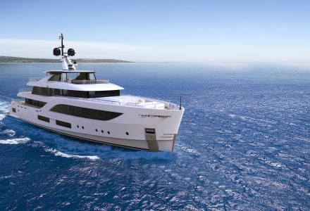 New project Baglietto 54M Hull 10231
