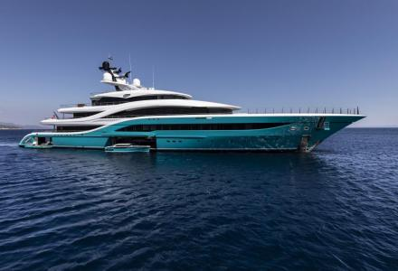 Top five memorable yacht exteriors in size 55 to 99m