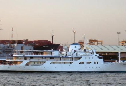 Philippine presidential yacht in operation against COVID-19