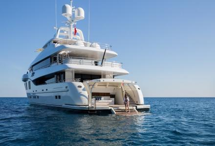 Inside 41m Rüya by Alia Yachts and Sorgiovanni