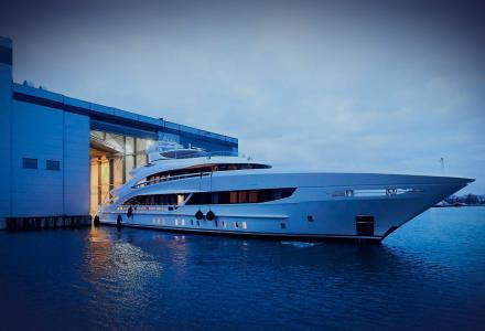 Heesen shipyard showcases new 50m project Triton