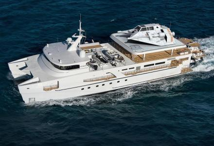Echo Yachts reveals 50m Project Echo catamaran design