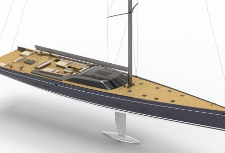 Royal Huisman showcases new 46m Project 405