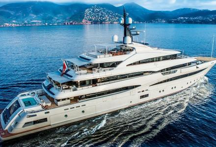On Board the recently sold 74m superyacht Odyssey II