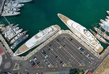 Spotted: two Golden Yachts O'Ptasia and O'Pari in Piraeus