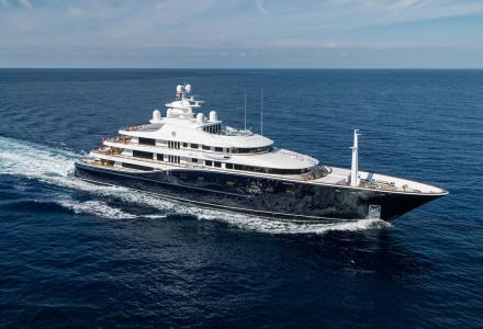 A look inside the 12-month refit of 85.6 m superyacht Aquila