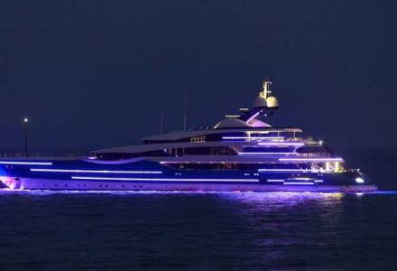 Spotted: 99m superyacht Madame Gu in Saint Tropez