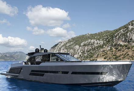 New delivery: 25m flagship yacht Mazu 82