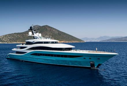A look inside Turquoise Yachts' flagship 77m superyacht Go