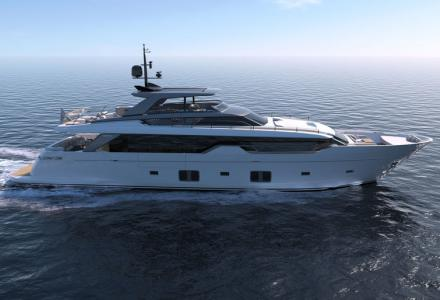 New-build asymmetric motor yacht Sanlorenzo SL102 has been sold