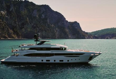 Benetti's first Diamond 145 superyacht Ink has been delivered