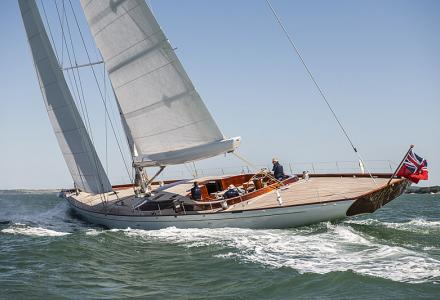 A look inside newly delivered 34m Spirit Yachts eco-sailing yacht Geist