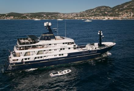 63.2m explorer Force Blue hits charter market with special offers