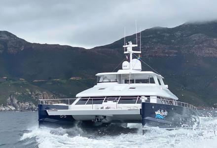 850E Power Catamaran - the new model by South Africa's Two Oceans Marine