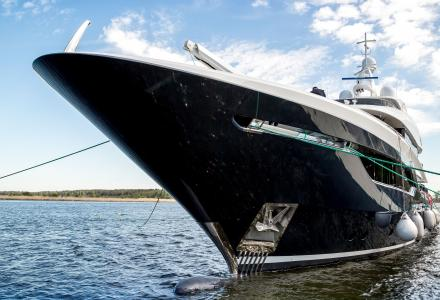 Viatoris - the winner of the 2019 Displacement Motor Yachts Between 300GT and 499GT - 30m to 47.9m World Superyacht Award